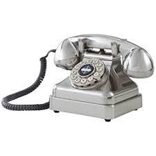 Desk Telephones Amazon Com Crosley Cr62 Bc Kettle Classic Desk Phone With Push