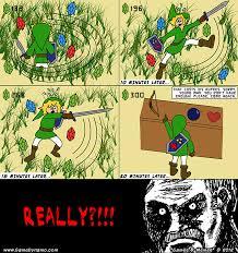 Legend Of Zelda Memes - games memes comics the legend of zelda link s major rupee