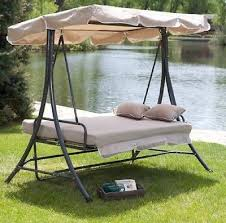 patio swing daybed canopy glider large outdoor pool deck patio