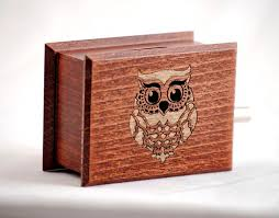 Unique Music Box Owl Decor Custom Music Box Own Individual Optional Music