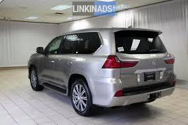 lexus minivan used 2016 lexus lx 570 atomic silver used cars sharjah