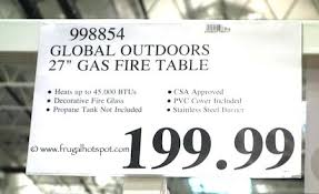 global outdoors fire table global outdoors fire table global outdoors faux wood fire table full