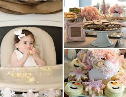 Winter Decorations For Parties - ariella u0027s 1st birthday party rustic winter wonderland project