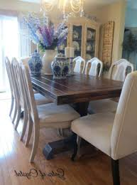 Painted Dining Table Ideas Painting Dining Room Table Painting Dining Room Chairs With Chalk