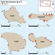 Map Of Coral Reefs Noaa Pifsc Quarterly Research Bulletin Preliminary Results From