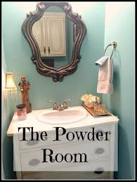 In The Powder Room The Powder Room Patina And Paint