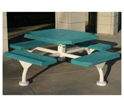 Free Picnic Table Plans 8 Foot by Exteriors 8 Foot Picnic Table Steel Frame Picnic Table Octagon