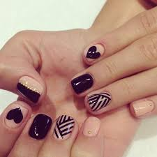 grey nail designs pink is absolutely the best feminine blush