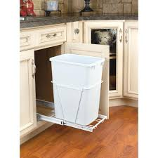 trash bin cabinet amazoncom household essentials under cabinet pull out trash can cabinet door d single pull under cabinet pull out trash can with lid pull out trash bin sizes