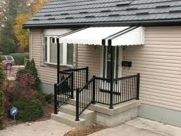 awnings for front porch front door awning ideas porch overhang