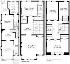 brownstone floor plans impressive ideas brownstone house plans floor esprit home plan