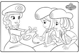 sofia buttercups coloring free printable coloring pages
