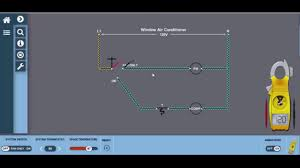 window unit wiring diagram hvac electricity youtube