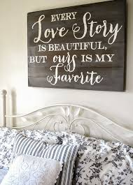 21 wood signs to add rustic glam to your decor headboards signs
