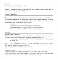 Hybrid Resume Sample by Hybrid Resume Template Resume Example