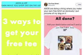 online fashion giants asos are giving customers the chance to