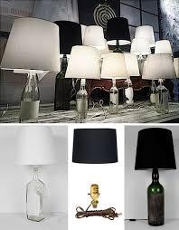 Wine Bottle Light Fixtures Black Labels Bright Lights 5 Diy Wine Bottle Lamp Projects