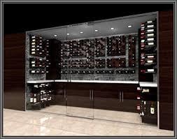 chicago custom wine cellar design using peg wine rack system