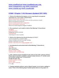 ccna 1 chapter 1 v4 0 answers updated 2011 100 router