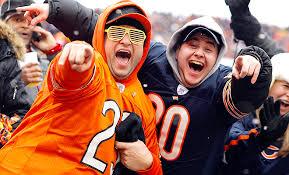 the sports fan zone chicago bears fan zone