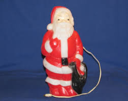 Blow Mold Christmas Decorations Australia by Vintage Outdoor Christmas Decorations Etsy