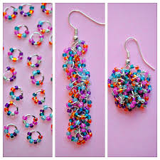 easy earrings easy seed bead earrings happy go lucky