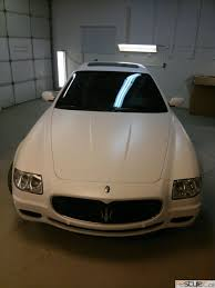 maserati quattroporte matte black matte white maserati quattroporte vehicle customization shop