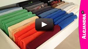 alejandra tv video how to fold t shirts
