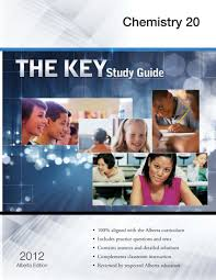 the key study guide alberta chemistry 20 rao gautam