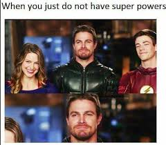Arrow Memes - but taller than the ones that do the arrow the flash legends of