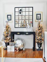 Black And White Ball Decoration Ideas Christmas Decorating Ideas Black Brown U0026 White Living Room