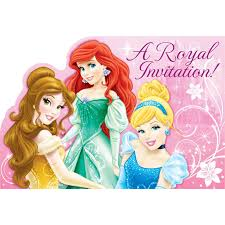 birthday invitation card disney princesses birthday invitations
