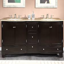 60 bathroom vanity double sink double bowl vanity 60 single sink