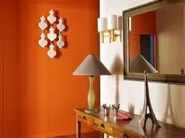 cuisine orange et gris cuisine orange et gris 8 peinture murs de mon entr233e salon