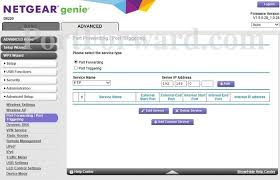 auto port forwarding program netgear d6220 port forwarding port triggering router screenshot
