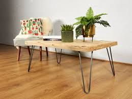 Hairpin Legs Coffee Table Reclaimed Chevron Pallet Coffee Table Hairpin Legs By Sunnyside