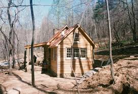 building a small house part four of building a rustic cabin handmade houses with