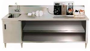 Stainless Kitchen Table by Restaurant Beverage Tables