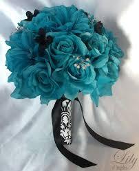 teal flowers best 25 teal wedding flowers ideas on teal bouquet