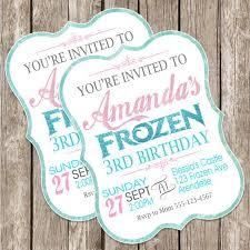 best 25 frozen birthday invitations ideas on pinterest frozen