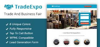 trade expo trade u0026 business fair wordpress theme u0026 template