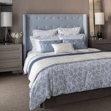 elan satin stripe blue bed linen ariiyaa com loversiq
