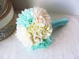 Wedding Bouquets Fabric Wedding Bouquets From Etsy