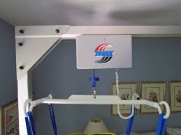 Interior Health Home Care A Freestanding Overhead Patient Lift That Fits In The Bedroom And