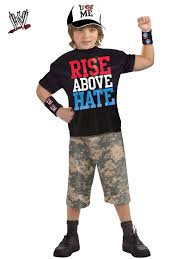 cool halloween costumes for kids boys wwe john cena boys classic muscle chest costume john cena