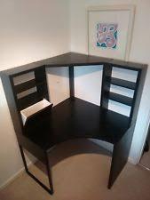 Ikea Gaming Desk Gaming Desk Workstation Ikea Fredde Black Ebay
