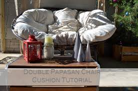 grace langdon art double papasan chair cushion tutorial
