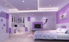 simple purple and pink bedroom ideas in home decoration for