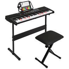 piano keyboard with light up keys bestchoiceproducts rakuten best choice products 61 key teaching