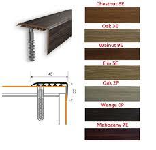 Screwfix Laminate Flooring Laminate Stair Nosing Ebay